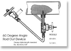 60 Degree Rod-Out Tool